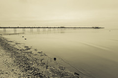 Milky sea... (tabulator_1) Tags: southport southportpier