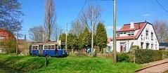 Lente Lijn : Driehoekende Drieasser (Peter ( phonepics only) Eijkman) Tags: holland netherlands amsterdam transport nederland tram rail rails trams ema strassenbahn noordholland amstelveen gvb streetcars nederlandse reflectionsofthepast museumstel museummaterieel