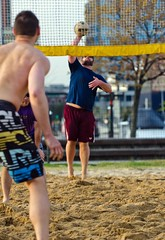 2016-04-11 BBV Men's 2s (18) (cmfgu) Tags: baltimore beach volleyball bbv md maryland innerharbor rashfield sand sports court net ball outdoor league athlete mens doubles twos 2s craigfildesfineartamericacom