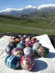 Happy Easter! (nightcloud1) Tags: picknick paintedeggs amandola sibillinimountains eggdecoration easter2016