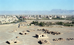 Yadz, Iran (2015) (Camille Léage) Tags: city urban history film landscape photography 50mm iran photojournalism olympus urbanism reportage modernity zoroastrianism yadz zoroastrism