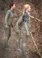 Golden-haired girl (stevefge) Tags: girls people netherlands girl sport hair mud nederland viking berendonck nederlandvandaag reflectyourworld strongviking