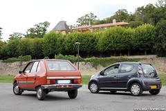 Mes voitures - Citroën Visa Super - 1979 & Citroën C1 (Deux-Chevrons.com) Tags: auto france classic car nose pig automobile super citroën voiture collection coche oldtimer collectible nez cochon 1979 visa collector groin ancienne c1 classique pignose youngtimer citroënc1 citroënvisa nezdecochon citroënvisasuper