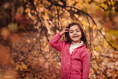 Child (Natali Wendt) Tags: autumn girl smile kids child