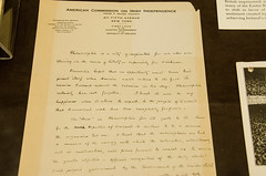 Letter from Eamon de Valera, president of the Irish Republic