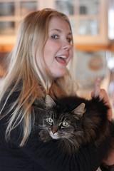 Positiv (k)attityd (Annica Spjuth) Tags: katt attityd fotosondag älskadedotter fs160320