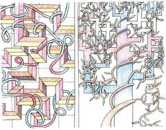 I like to color (vidalia_11) Tags: illustration amusement drawing sketchbook coloring pendrawing doodling