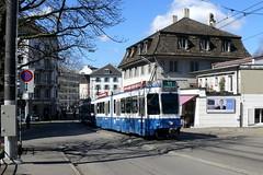 Tram 2000 2056+2301 (V-Foto-Zrich) Tags: tram zrich vbz verkehrsbetriebe zrilinie