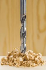 Drill Away (Muhammad Al-Qatam) Tags: life wood macro spiral still nikon steel drill 105mmf28gvrmicro d810 alqatam malqatam muhammadalqatam