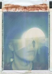 Path (Maija Karisma) Tags: polaroid doubleexposure instant expired pola expiredfilm peelapart closeupkit583 polacolor100 polaroid100landcamera littlebitbetterscan roidweek2016