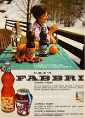 Ascoli com'era: la bella Adriana pubblicizza gli sciroppi Fabbri (1964) (Orarossa) Tags: italy italia emilia 1964 pubblicit abetone adrianaisopi 0220041 sciroppifabbri