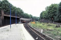 Once upon a time - Germany - West Berlin Bahnhof Humboldthain (railasia) Tags: germany platform arrival sbahn eighties infra westberlin bvg thirdrail humboldthain routes2 baureihe275 viertelzug