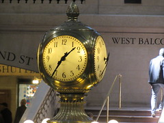 clock, Grand Central Terminal, New York (Dan_DC) Tags: newyorkcity clock manhattan trains commuting grandcentralterminal railstation