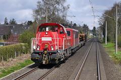 P2250560 (Lumixfan68) Tags: eisenbahn db cargo bahn 261 deutsche zge loks baureihe gravita voith gterzge dieselloks 10bb rangierloks