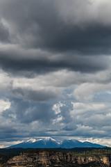 1604 San Francisco Peaks from Bear Mountain (c.miles) Tags: clouds sedona bearmountain sanfranciscopeaks bearmountaintrail mounthumphries