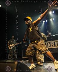 PUBLIC ENEMY @ Lyon - 2013 @ 02 - 10074 (hanktattoo) Tags: black public animal one d hard carl soul funk chuck panthers hip hop rhyme enemy iconography rhymer politic numer ridenhour