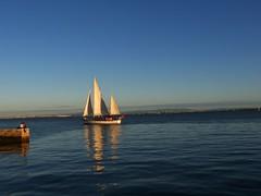 All you need is love (blogspfastatt (+3.000.000 views)) Tags: ocean blue sunset sea kiss sailing bleu blau bteau pfastatt blogspfastatt