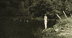 Watch Me the old swimmin' hole - 1913 (SSAVE w/ over 5 MILLION views THX) Tags: boy swimming naked snapshot swimminghole 1913 skinnydipping