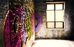 Walls (v_rijswijk) Tags: street old city urban streetart colour abandoned colors leuven trash photography colorful exposure industrial factory colours colorfull streetphotography indoor urbanart inside urbano colourful stad urbanphotography urbex urbanstreets urbanwalls wallporn streetartistry
