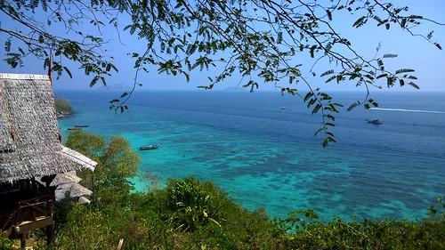Blick auf das Meer vor Ko Phi Phi