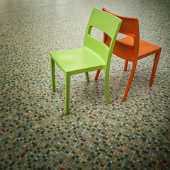 Two chairs in the Galerie Ravenstein, a much underrated (and neglected) building in Brussels. I like the way the orange chair picks out the orange tiles...  #brussels #bruxelles #bruxellesmabelle #chairs #seats #tiles #minimalism # (daveoleary) Tags: brussels two orange building green composition shopping way out photography chair chairs neglected like bruxelles galerie minimal tiles seats and much minimalism simple minimalist picks ravenstein backtoback keepitsimple underrated i galerieravenstein bruxellesmabelle instagood instaphotography like4like likesforlikes igshutterbugs