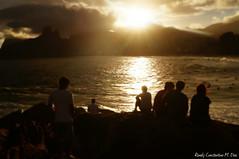 (ronaly_dias) Tags: sunset brazil people sol beach rio brasil de do surf colours janeiro sony litoral praias arpoador pr a37
