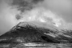 (^Michael Bischof^) Tags: bw white mountain snow black nature beautiful clouds canon lens landscape eos scotland highlands angle voigtlander wide 5d manual 40mm fullframe 5ds