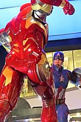 civil war (DOLCEVITALUX) Tags: cinema america movie philippines ironman exhibit captain recreation captainamerica avengers