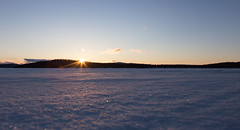 end of a sunny day (Stefan Giese) Tags: canon dawn finnland sonnenuntergang sundown himmel blau weite 6d winterlandschaft 24105mm