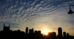 Views from the Stone Arch (YaBoyReggie) Tags: sunset sky sun minnesota silhouette stone skyline clouds contrast dark downtown arch shadows minneapolis downtownminneapolis stonearchbridge minneapolisskyline