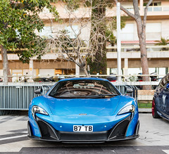 Shmeezus (Alexbabington) Tags: blue cars car montecarlo monaco mclaren british rare supercar longtail v8 supercars 675 ceruleanblue 675lt