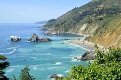 California coast (F R Childers Photography) Tags: bigsur pch highway1 hwy1 californiacoast pacificcoasthighway juliapfeifferburnsstatepark ca1 californiapch mcwaywaterfalltrail mcwayfallsbigsurca