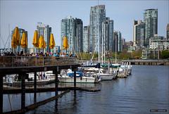 Hit The Deck (Clayton Perry Photoworks) Tags: canada skyline architecture vancouver buildings boats spring bc falsecreek explorebc explorecanada