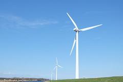 Three Vestas wind turbines (DennisM2) Tags: windpower windkraftanlage windturbines olienne windmolens vestas aerogenerador noordhollandschkanaal vindturbin