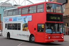 National Express West Midlands Transbus Trident 2/Transbus ALX400 4634 (BX54 XSB) (Birmingham Central) 'Noel Mulvey' (john-s-91) Tags: birmingham eddietheeagle route61 4634 nationalexpresswestmidlands transbusalx400 transbustrident2 bx54xsb