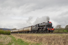 44871 (MitchellTurnbull) Tags: park black london train photography nikon 5 country scottish railway diner steam lancashire east april locomotive elr 24th midland burrs lms 2016 5mt d3200 44871
