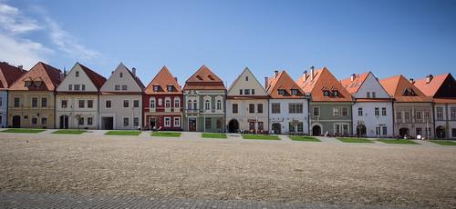 Bardejov old city central plaza