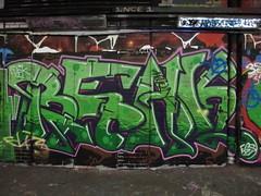 Reak graffiti, Leake Street (duncan) Tags: graffiti reak leakestreet