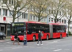 Bus 66 Aachen (streamer020nl) Tags: man bus germany deutschland 66 aachen monschau aken brd 2016 dardenne bushof 180416