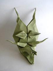 Monstruo - Mario Adrados (Rui.Roda) Tags: face monster origami mask mario papiroflexia rostro rosto visage masque monstruo monstre mscara monstro adrados papierfalten