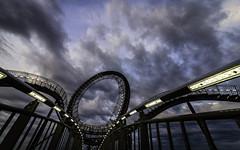 - l o O p - (Blende1.8) Tags: sky clouds nikon loop curves himmel wolken sigma landmark curvy nrw magicmountain duisburg rund looping ruhrgebiet 1224mm d600 halde dramatisch rotunde landmarke tigerandturtle sigma1224mmhsmii