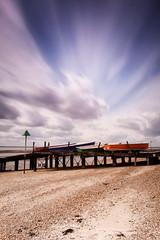 (Andy Bracey -) Tags: longexposure sea seascape beach landscape boats coast pier sand nikon jetty coastal essex southend southendonsea bracey leefilters d700 bigstopper andybracey