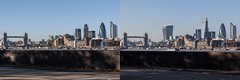 Bermondsey Wall East 2010 - 2015 (Gary Kinsman) Tags: urban london tower skyline skyscraper towerbridge construction diptych cityscape view time zoom cranes telephoto highrise vista change bermondsey canon5d beforeandafter gherkin development 30stmaryaxe tower42 cityoflondon 2010 willisbuilding se16 canon28135mm 2015 canon70300mm 20fenchurchstreet bermondseywalleast 122leadenhallstreet herontower leadenhallbuilding canoneos5dmarkii canon5dmkii