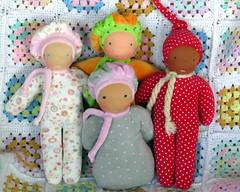 soft cuddle dolls (Snezinka-Snowflake) Tags: waldorfdoll firstdoll steinerdoll naturaltoys