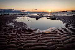 rippled sand (D Cation) Tags: sunset scotland isleofarran gloaming ayrshire seamill westkilbride