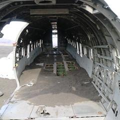 Terrible in-flight service (Canoneer71) Tags: canon eos waterfall iceland m3 douglas dc3 dakota aircrash