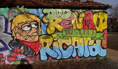 La Rochelle, Graffiti, Le Gabut (thierry llansades) Tags: streetart art wall graffiti mural graf spray urbanart larochelle aerosol mur graffitis graffs legabut