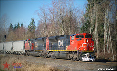 CN Rail (BCOL CCCP) Tags: railroad canada cn bc oliver railway delta canadian national cccp cnr cnrail sd70m2 bcol