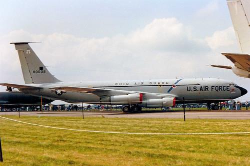 58-0008 Boeing KC-135E Stratotanker cn 17753 ln T0223 US Air Force Boscombe Down 09Jun90