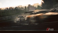 Audi R8 VS BMW Z4 (Autoprophet-ZR) Tags: bmw z4 audi r8 gt3 nordschleife lms nurburgring projectcars shadowworks teamwrt machinedojomoddingteam